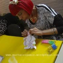Aula de Origamis - Flor de Lótus - São Mateus - SP
